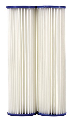 - DuPont WFPFC3002 Universal Whole House Pleated Poly Cartridge, 2-Pack