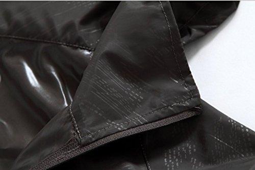 JJLHIF Lightweight Waterproof Rain Jacket UV Protect Quick Dry Windproof Skin Coat Active Outdoor Hoodie Coat Cycling Running Sport Jacket With Storage Bag For Men Women