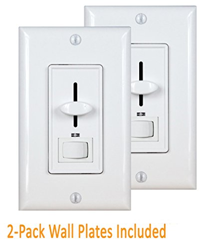 Light Dimmer Enerlites 50321-W 3-Way Dimmer Switch for Energ