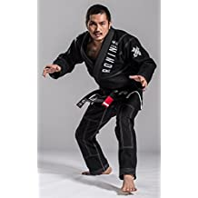 Ronin Imperial Gold Weave BJJ Gi - Black