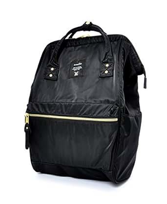Amazon.com | Anello Lightweight Nylon Square Rucksack (Black) | Casual
