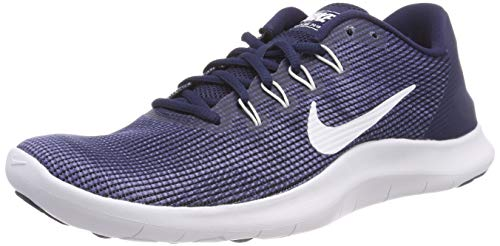 Blue Recall White Midnight 8 Flex RN Running Shoe Navy US NIKE D Men's 2018 nF1wqzaxHv
