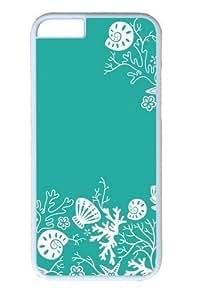 iPhone 6 Case,Seafoam Friends11 Custom PC Hard Case Cover for iPhone 6 White