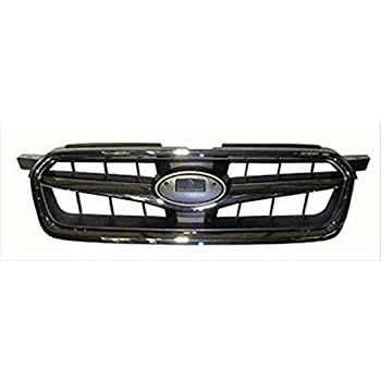 IPCW CWG-OK0607A0 Chrome//Black Replacement Grille