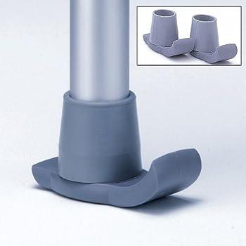 (Set/2) Deluxe Walker Glide Sliders - Nylon Support Tips For More Stability