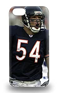 Iphone 3D PC Soft Case Cover Fashionable Iphone 5/5s 3D PC Soft Case NFL Chicago Bears Brian Urlacher #54 ( Custom Picture iPhone 6, iPhone 6 PLUS, iPhone 5, iPhone 5S, iPhone 5C, iPhone 4, iPhone 4S,Galaxy S6,Galaxy S5,Galaxy S4,Galaxy S3,Note 3,iPad Mini-Mini 2,iPad Air )