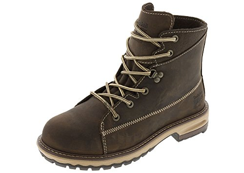 Timberland PRO Women's Hightower 6'' Alloy Toe Industrial and Construction Shoe, Kaffe Full-Grain Leather, 8 M US by Timberland PRO (Image #2)