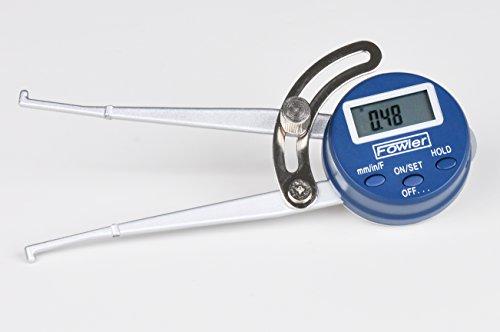 [해외]Xtra-Value 내부 전자 캘리퍼스 게이지, 54-554-730-0, 0.5-6 측정 범위, 0.01 정확도 내에서 파울러 전체 보증/Fowler Full Warranty Inside Xtra-Value Internal Electronic Caliper Gage, 54-554-730-0, 0.5-6  Measuring Range, 0.01  Accuracy