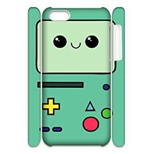 HQYDIY Custom Beemo 3D Plastic Case, DIY Beemo Hard 3D Cell Phone Case for Iphone 5C