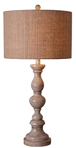 Kenroy Home 32236TA Bennett Table Lamp, Toasted Almond Finish - Toasted Almond Light