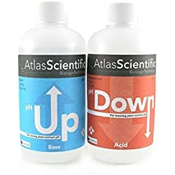1 Set Perfect Popular AS Hydroponic pH Control Scientific Tool Atlas Test Kit General Water Up and Down Volume 8 oz Each