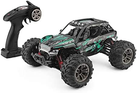 Rc Truck 1 16 All Terrain Rc Car 36km H 4wd Off Road Rc Trucks 2 4ghz High Speed Rc Cars For Adults Kids Radio Controlled Electronic Cars Green Amazon Com Au Toys Games