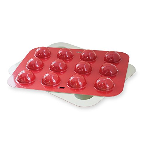 Nordic Ware Donut Hole and Cake Pop Pan, Colors Vary
