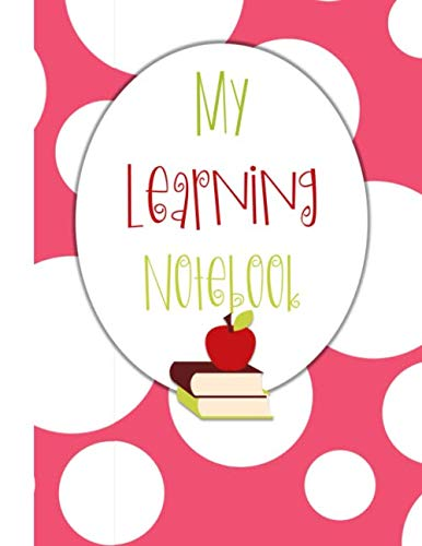 My Learning Notebook: Independent Learning Project Journal for Elementary Kids Grades 2-5: Big White Bubbles on Pink Cover (Project Based Learning Ideas For Fourth Grade)