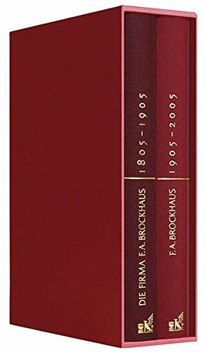 F. A. Brockhaus 1805-2005: Die Festschrift