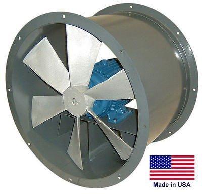 Streamline Industrial TUBE AXIAL DUCT FAN - Direct Drive - 12
