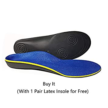 9214cee05fb4af Amazon.com  Plantar Fasciitis Insoles for Flat Foot