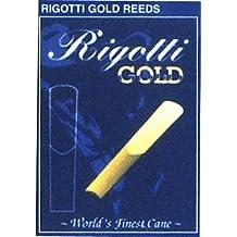 Rigotti Gold Tenor Saxophone Reeds Strength 2.5 Light