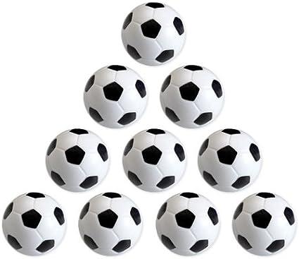 EYEPOWER 12070 - Lote de Pelotas de futbolín (10 Unidades, 36 mm, 24 g, duras y adherentes): Amazon.es: Deportes y aire libre
