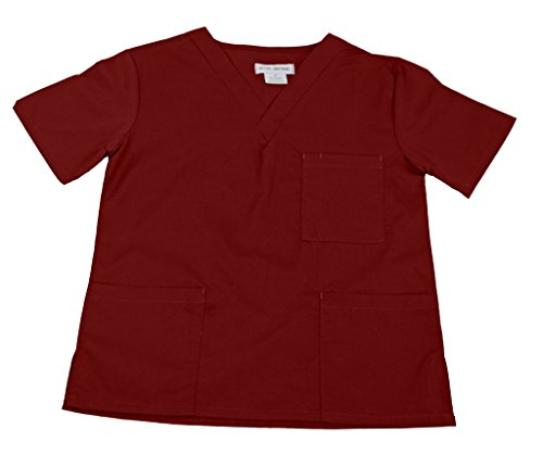 NATURAL UNIFORMS Women's Scrub Top Medical Scrub Top L ()
