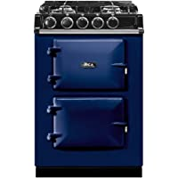 AGA ATC2DF City24 24 Inch Wide 2.84 Cu. Ft. Slide In Dual Fuel Range, Dark Blue