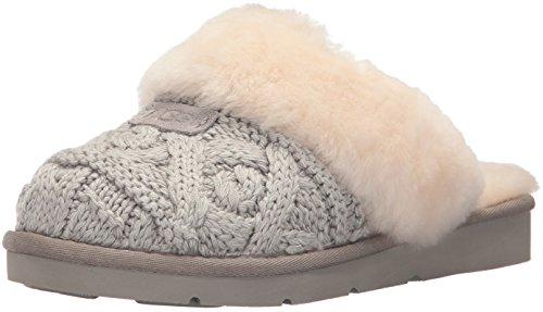 UGG Women's Cozy Cable Ankle Bootie, Seal, 9 M US by UGG
