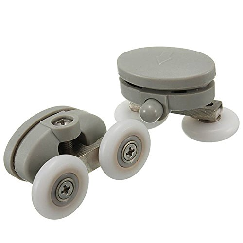 2Pcs Shower Door Wheel Glass Door Bottom Rollers Runners Pulleys Wheels by Freelance Shop Kithchen