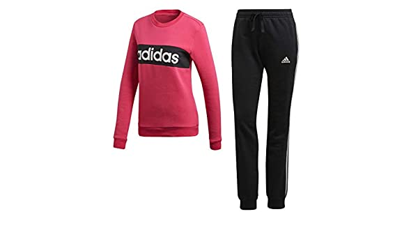 adidas WTS Core Chillout Chándal, Mujer, CZ2332, Real Magenta ...