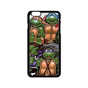 diy zhengTeenage Mutant Ninja Turtles Cell Phone Case for iPhone 6 Plus Case 5.5 Inch