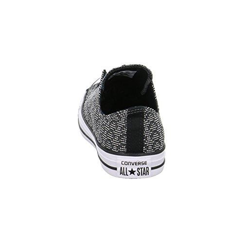 Converse  155439c, Baskets pour homme black/thunder/white
