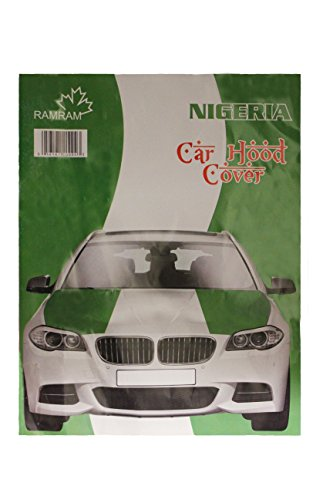 NIGERIA Country Flag CAR HOOD COVER New by Unknown