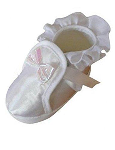 Festlicher Schuh für Taufe oder Hochzeit - Taufschuhe für Baby Babies Mädchen Kinder, TP14 Gr. 17
