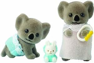 Sylvanian Families - Figuritas bebé, diseño de hermanos koala