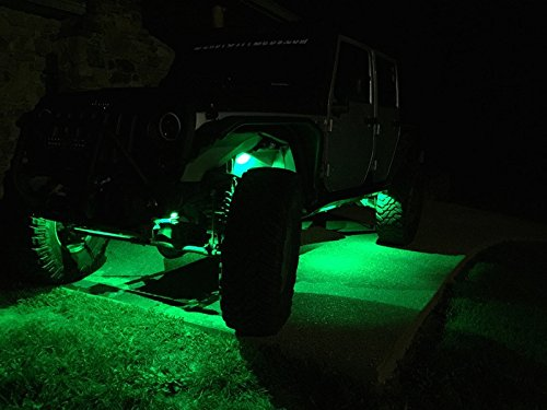 free shipping green rock light led super bright mini pods by suitech work lights for vehicle. Black Bedroom Furniture Sets. Home Design Ideas