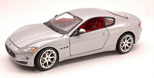 burago-bu22107s-maserati-granturismo-2007-silver-124-modellino-die-cast-model