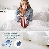 Bedsure White Down Alternative Comforter California