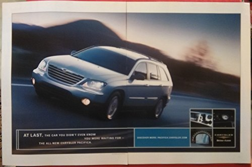 """2004 CHRYSLER PACIFICA SPORTS TOURER"""" AT LAST, The for sale  Delivered anywhere in USA"""