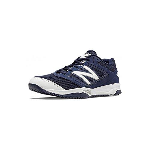 New Balance - Zapatillas de béisbol para hombre multicolor azul y blanco