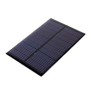 Calistouk - Módulo de panel solar de 1 W 5 V para sistema solar, cargador epoxi de 86 mm x 38 mm