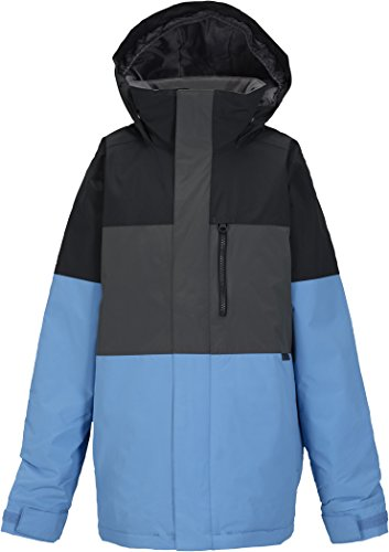Burton Jungen Snowboardjacke Symbol, tru black block, L, 10132102043