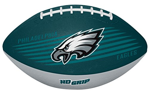 - Rawlings NFL Philadelphia Eagles 07731080111NFL Downfield Football (All Team Options), Green, Youth