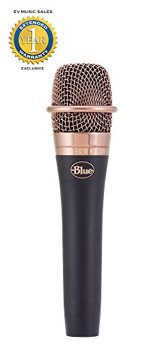 Blue enCORE 200 Dynamic Vocal Microphone with 1 Year Free Ex