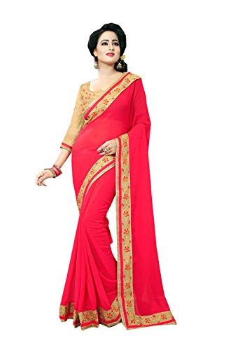 Rosso Tradizionale Per 86 Di Facioun Etnica Da Indiani Progettista Sari Partito Nozze Donne Indossare Le Sari wnAn6OZqU