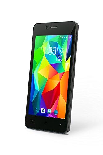 Slide Dual SIM 4.5' Android 5.1 Unlocked Smartphone, Quad Core 1.3GHz Processor, 8GB Storage, 3G GSM Coverage - Black (SP4523)