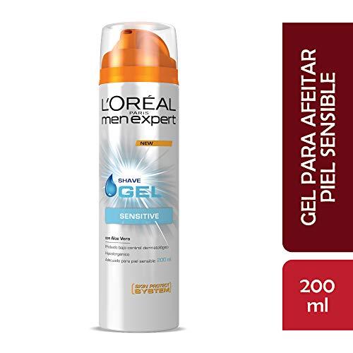 Gel de afeitar piel sensible Men Expert L'Oréal Paris 200ml