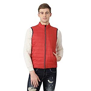 Monte Carlo Solid Rust Coloured Polyester Jacket