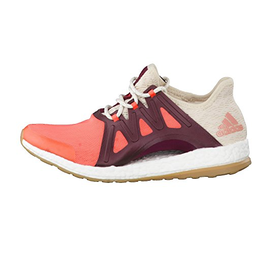 adidas Pureboost Xpose Clima, Chaussures de Course Femme, Orange (Arancione Corsen/Lino/Granat), 40 EU