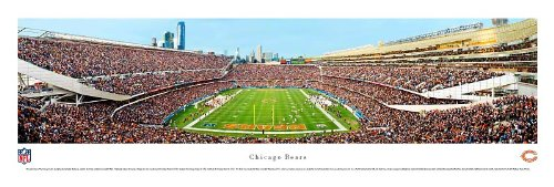 Chicago Bears - End Zone - Blakeway Panoramas Unframed NFL Posters ()