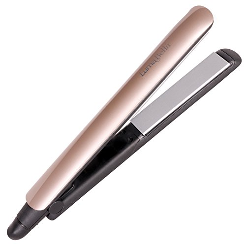 LumaBella Keratin Dual Touch Hair Straightener by LumaBella