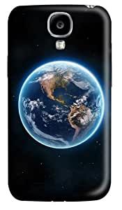 Earth The Blue Planet Polycarbonate Hard Case Cover for Samsung Galaxy S4/Samsung Galaxy I9500 3D